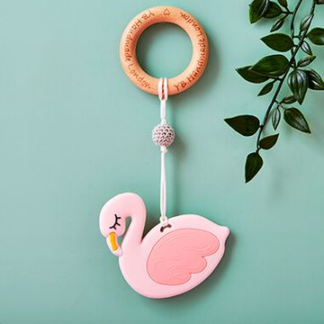 Flamingo Teething Bracelet - Pink